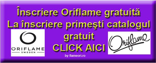 Pagini parfumate Oriflame