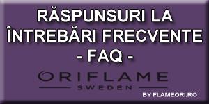 Oriflame FAQ