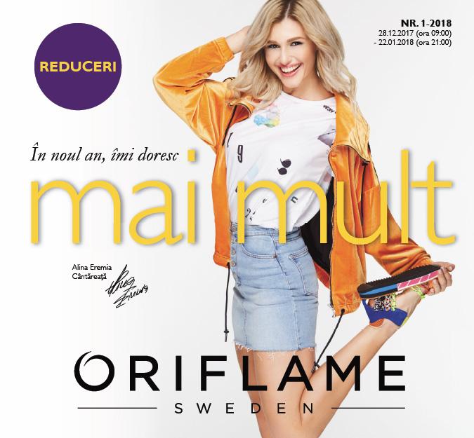 Catalog Oriflame C1 2018