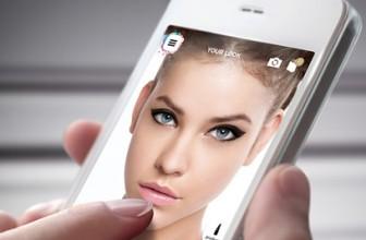 Oriflame aplicatie machiaj pentru telefon