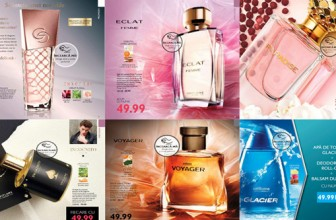 Oriflame catalog pagini parfumate