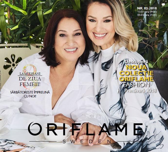 Catalog Oriflame februarie-martie 2018